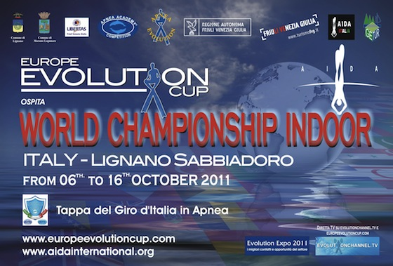 Locandina Europe Evolution Cup 2011