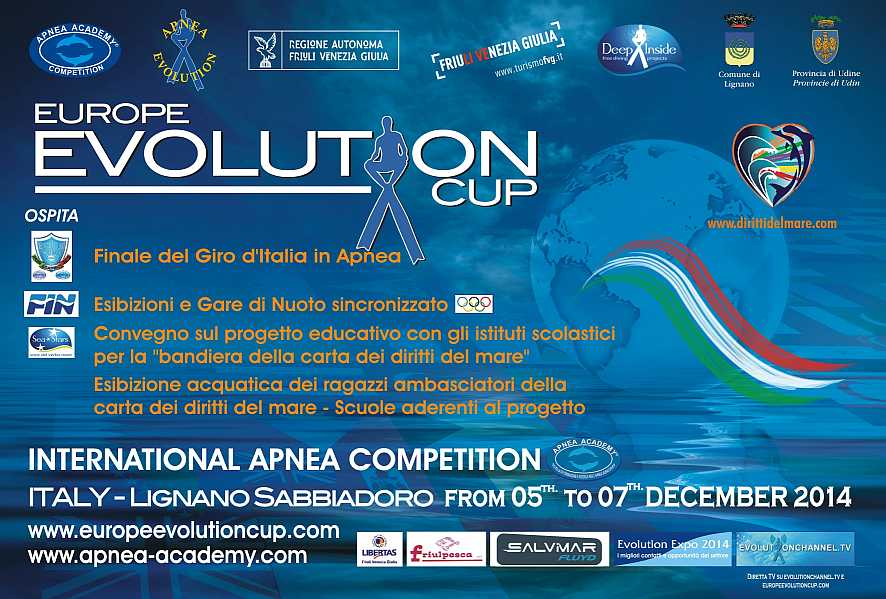 Locandina Europe Evolution Cup 2014