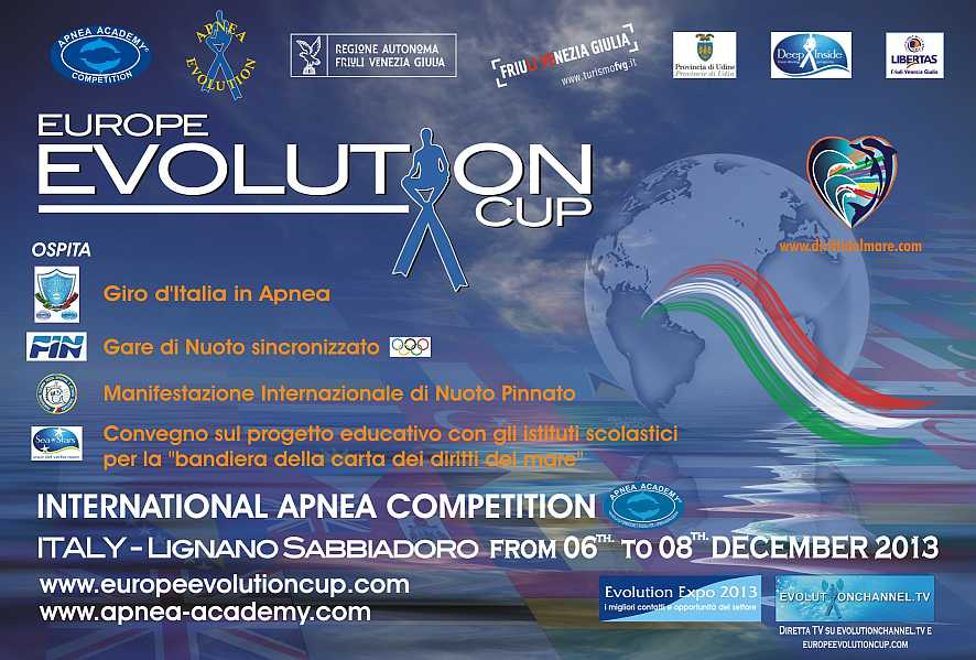 Locandina Europe Evolution Cup 2013